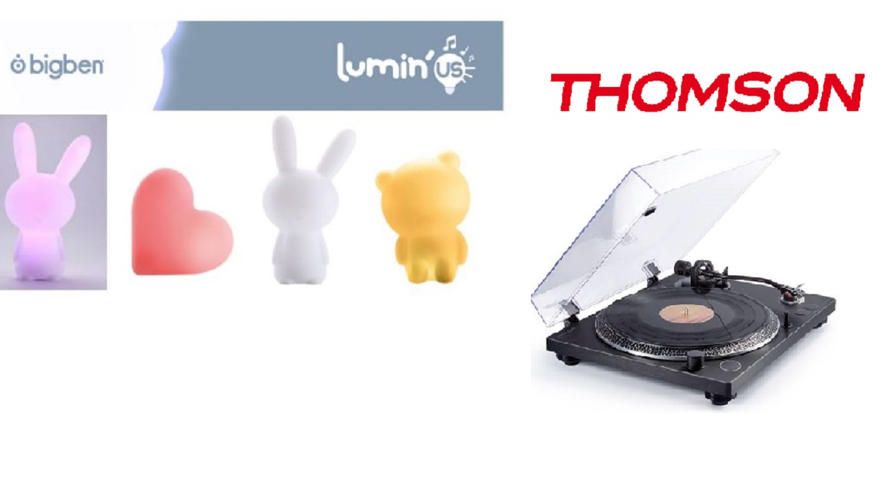 [IFA 2017]: A tutto volume con gli speaker Lumin'Us e il giradischi firmato Thomson thumbnail