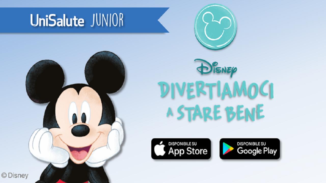 Nasce UniSalute Junior, la app di UniSalute e Disney contro sovrappeso e obesità infantile thumbnail