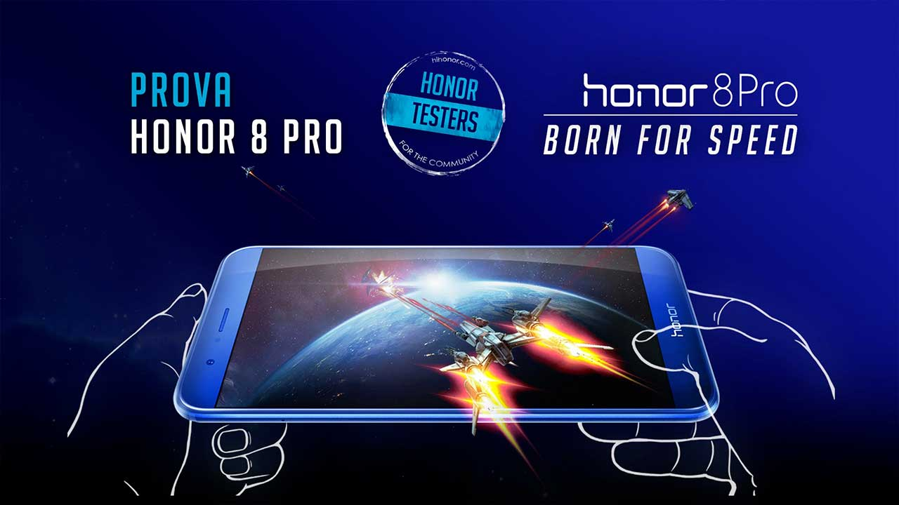 Honor: diventa tester e vinci Honor 8 Pro! thumbnail