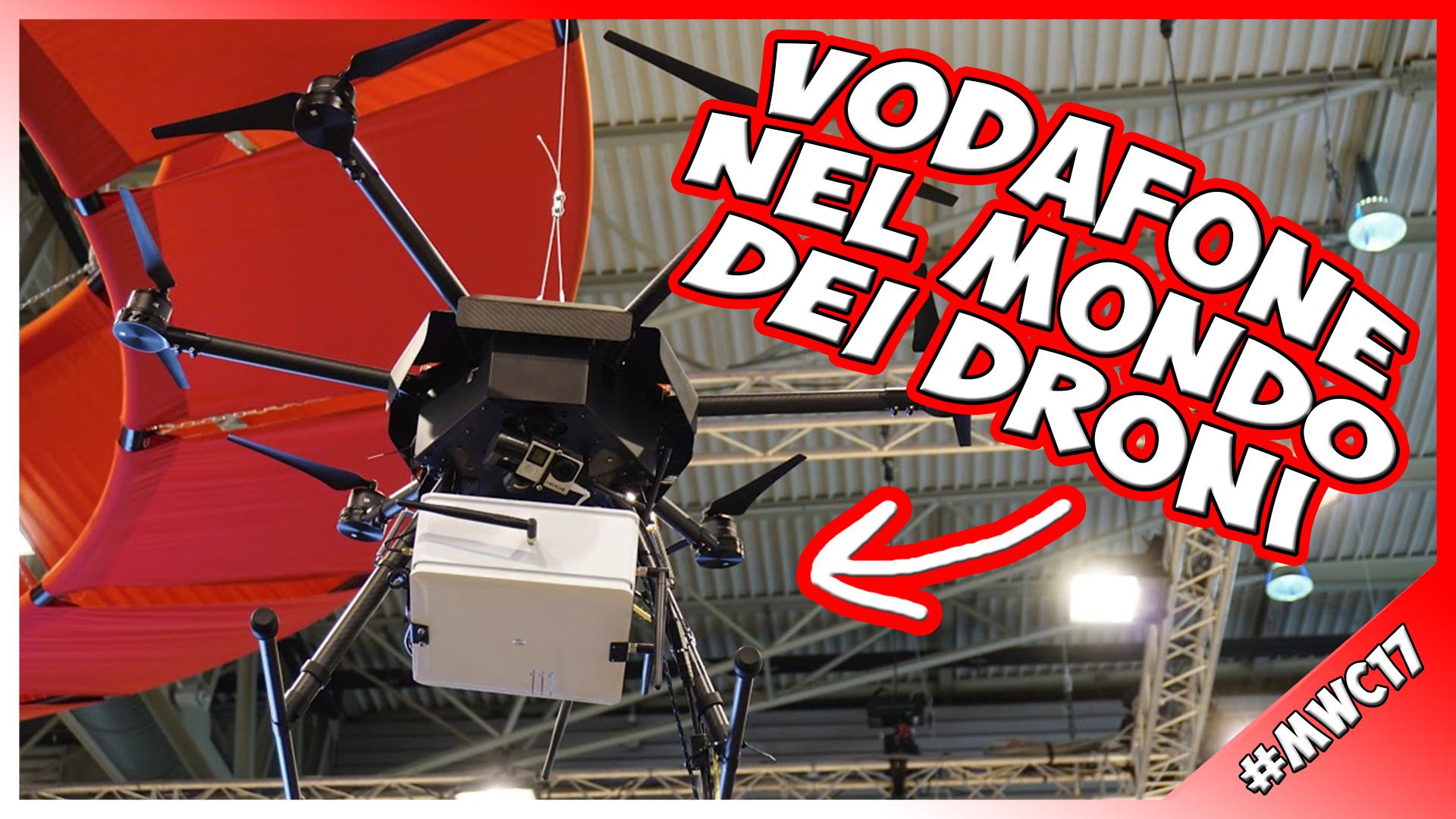[MWC 2017] Il drone di Vodafone che porta connessione ovunque!