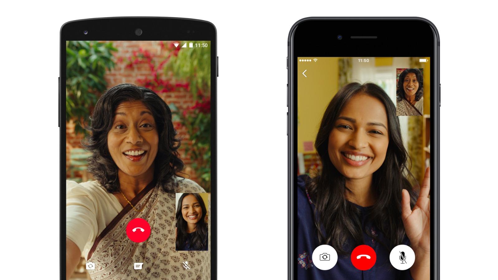 WhatsApp, videochiamate di gruppo in arrivo su Android e iOS thumbnail