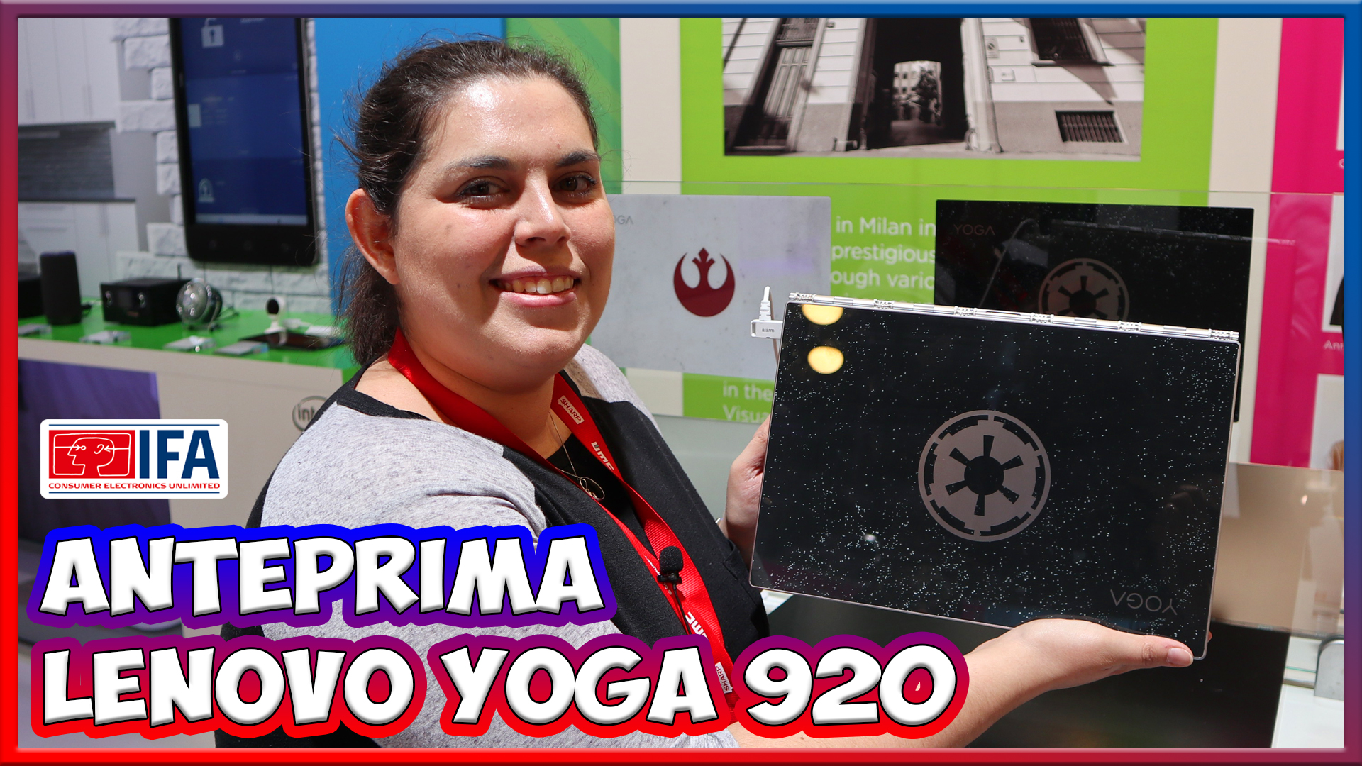 [IFA 2017] Lenovo Yoga 920: la nostra anteprima thumbnail