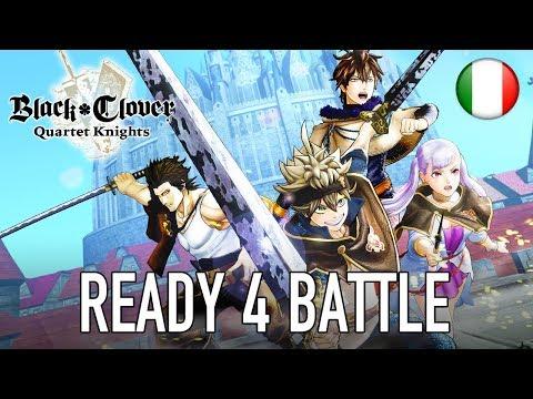 Black Clover Quartet Knights è finalmente disponibile thumbnail