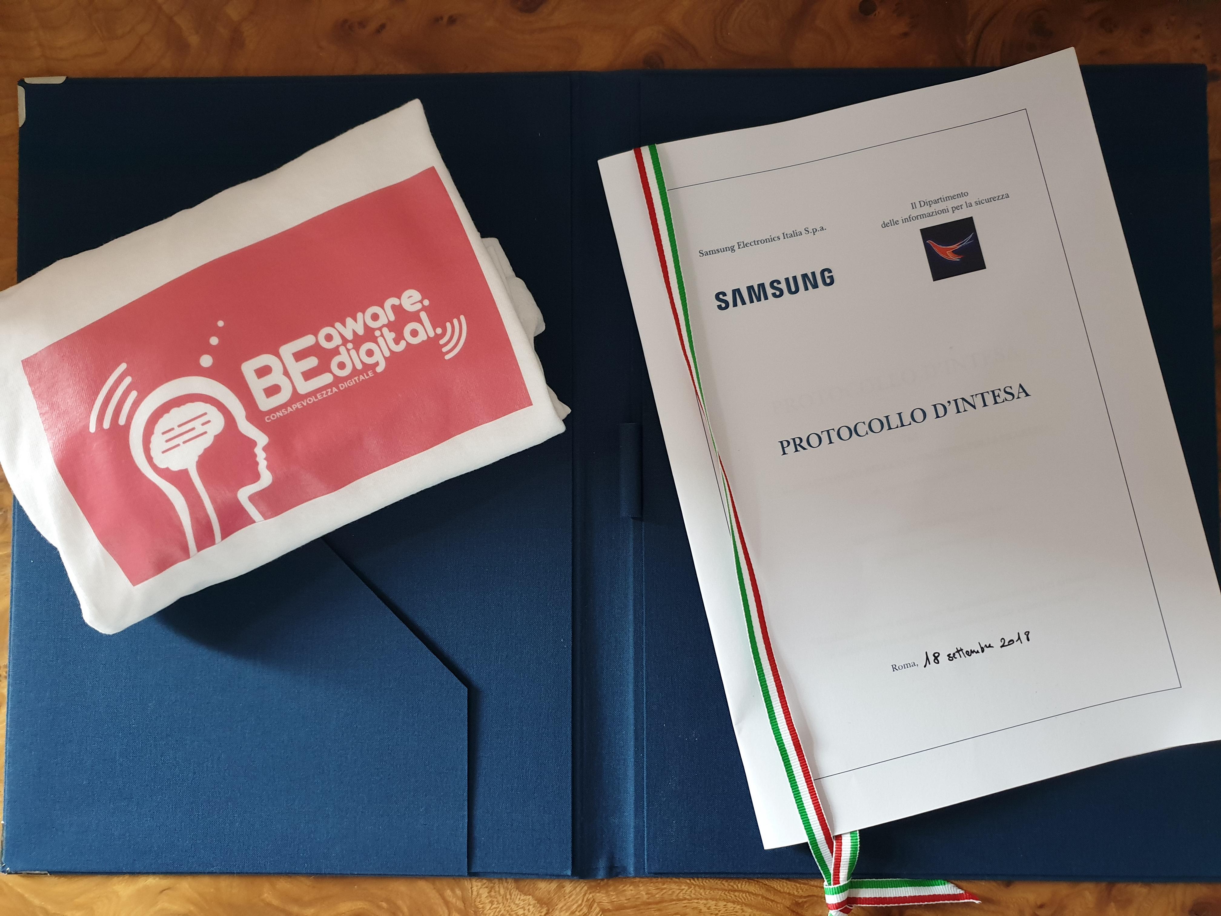 Sicurezza informatica: Samsung e DIS firmano il nuovo protocollo thumbnail