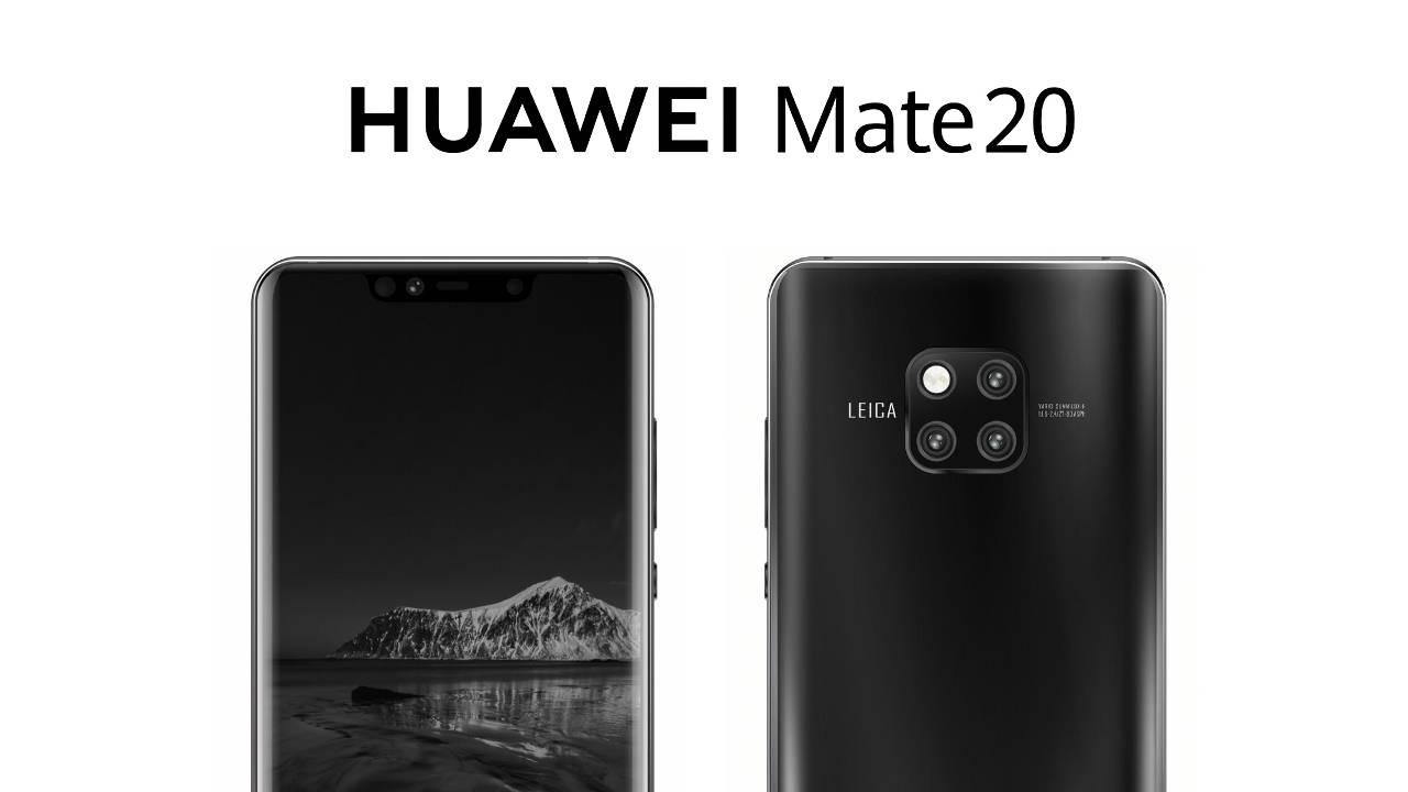 Huawei Mate 20 avrà tre fotocamere: ecco le immagini (quasi) ufficiali thumbnail