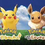 Pokémon Let's Go Pikachu e Let's Go Eevee