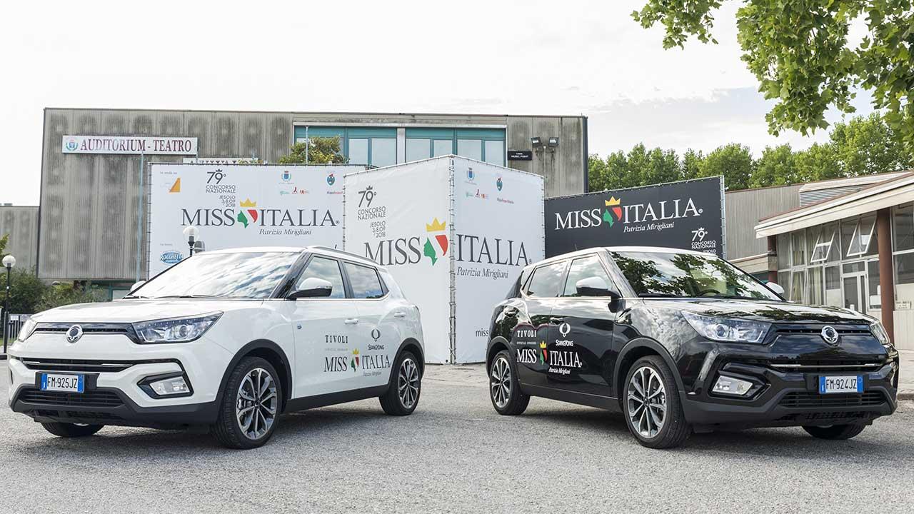 SsangYong Tivoli è l'auto ufficiale della settantanovesima edizione di Miss Italia thumbnail