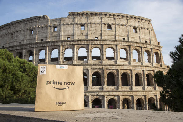 Amazon Prime Now arriva a Roma con PAM thumbnail