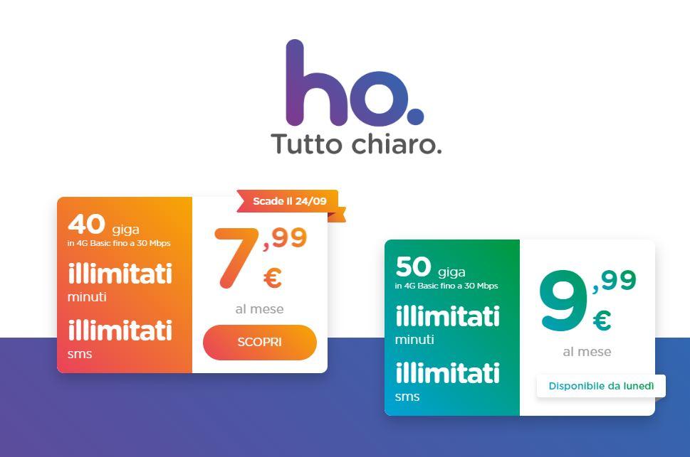 ho.mobile: da domani una nuova offerta con 50GB mensili thumbnail