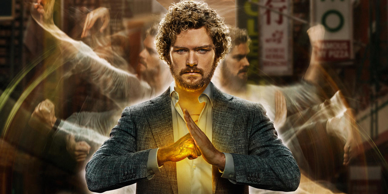 Finn Jones come Iron Fist nella serie Marvel Netflix