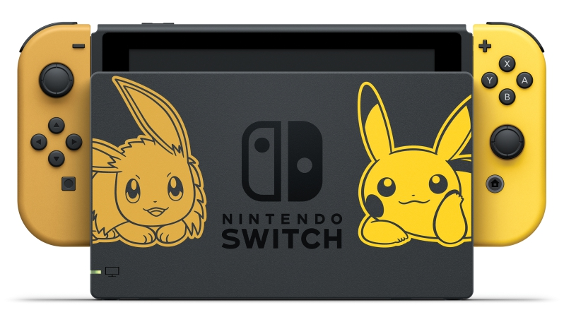 Nintendo Switch Pokémon: Let's Go, Pikachu Eevee