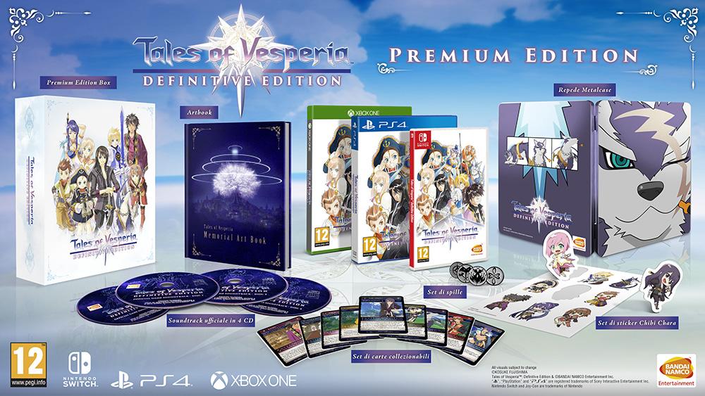 Tales of Vesperia: Definitive Edition, la Premium Edition sarà presto prenotabile thumbnail