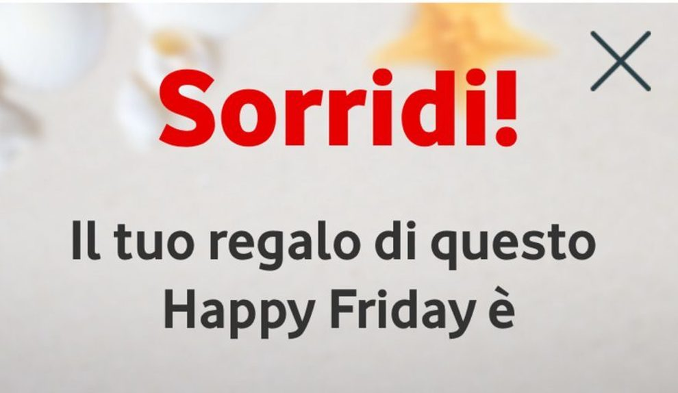Vodafone Happy Friday 24 Aprile 2020 thumbnail