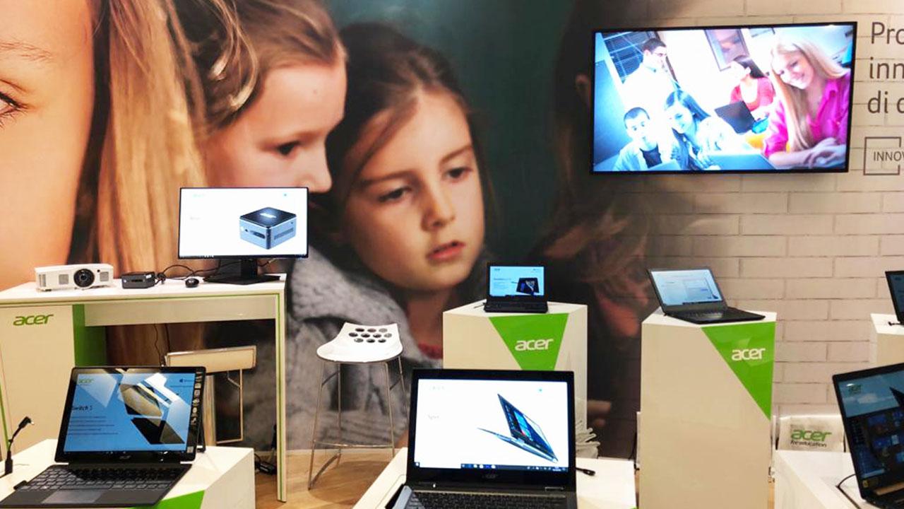 Acer for Education presenta a Didacta le soluzioni dedicate al mondo scolastico thumbnail