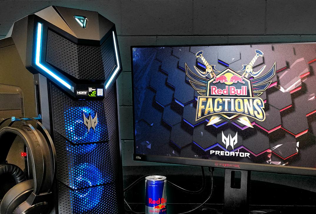 La finale dei Red Bull Factions si giocherà sui prodotti top di gamma a marchio Predator thumbnail