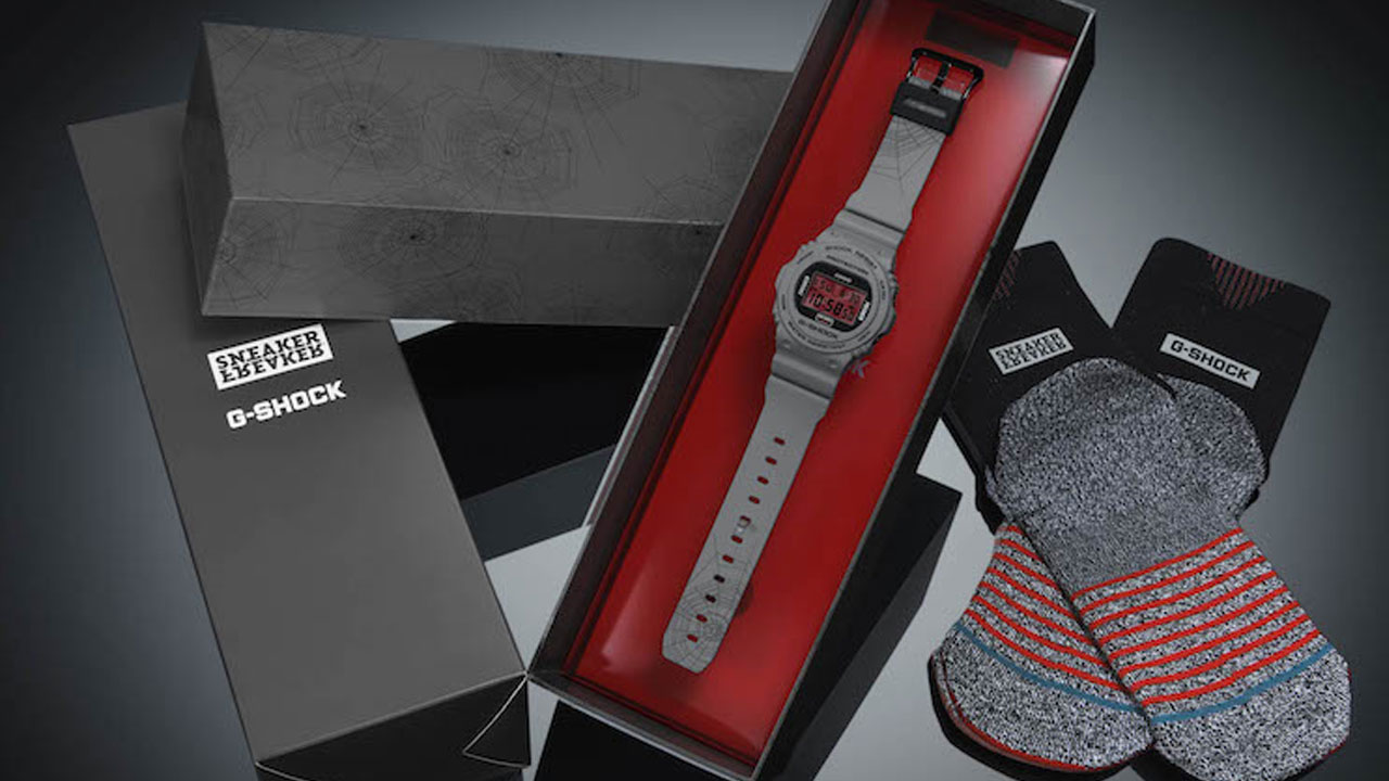 G-Shock e Sneaker Freaker insieme per creare il modello Redback DW-5700 thumbnail