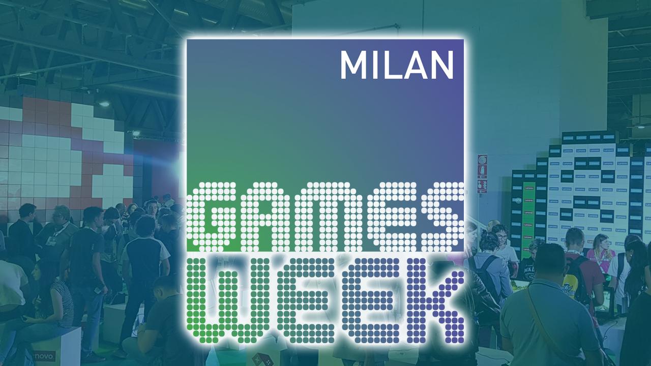 Venite a trovarci alla Milan Games Week 2018! thumbnail