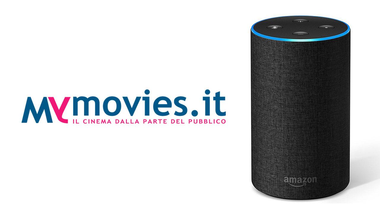 Amazon Alexa: arriva la skill di MYmovies dedicata al cinema thumbnail