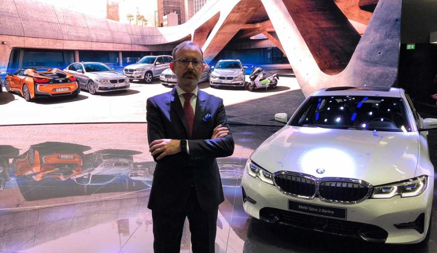 Salone di Parigi 2018: intervista al presidente e AD di BMW Italia thumbnail