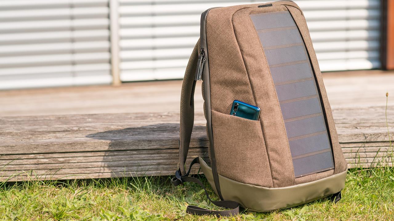 Sunnybag Iconic, lo zaino che ricarica il vostro PC con l'energia solare thumbnail