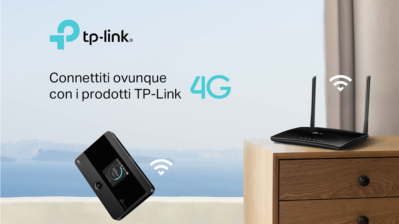 Router TP-Link 4G, perfetti per rimanere sempre connessi thumbnail