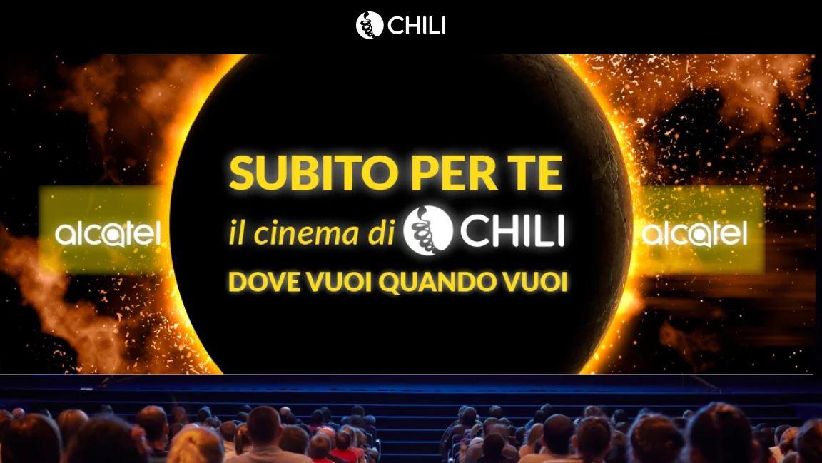 screen offerta chili cinema alcatel