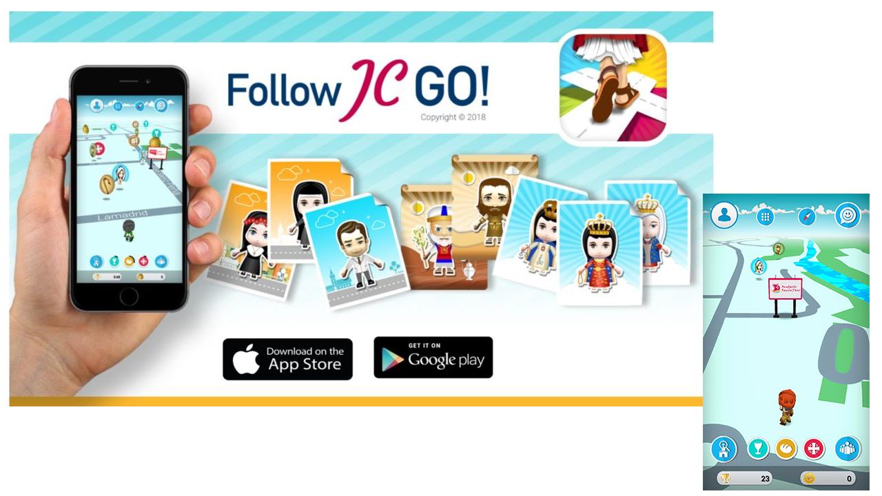Follow JC Go, il Pokémon Go approvato dal Vaticano e dal Papa