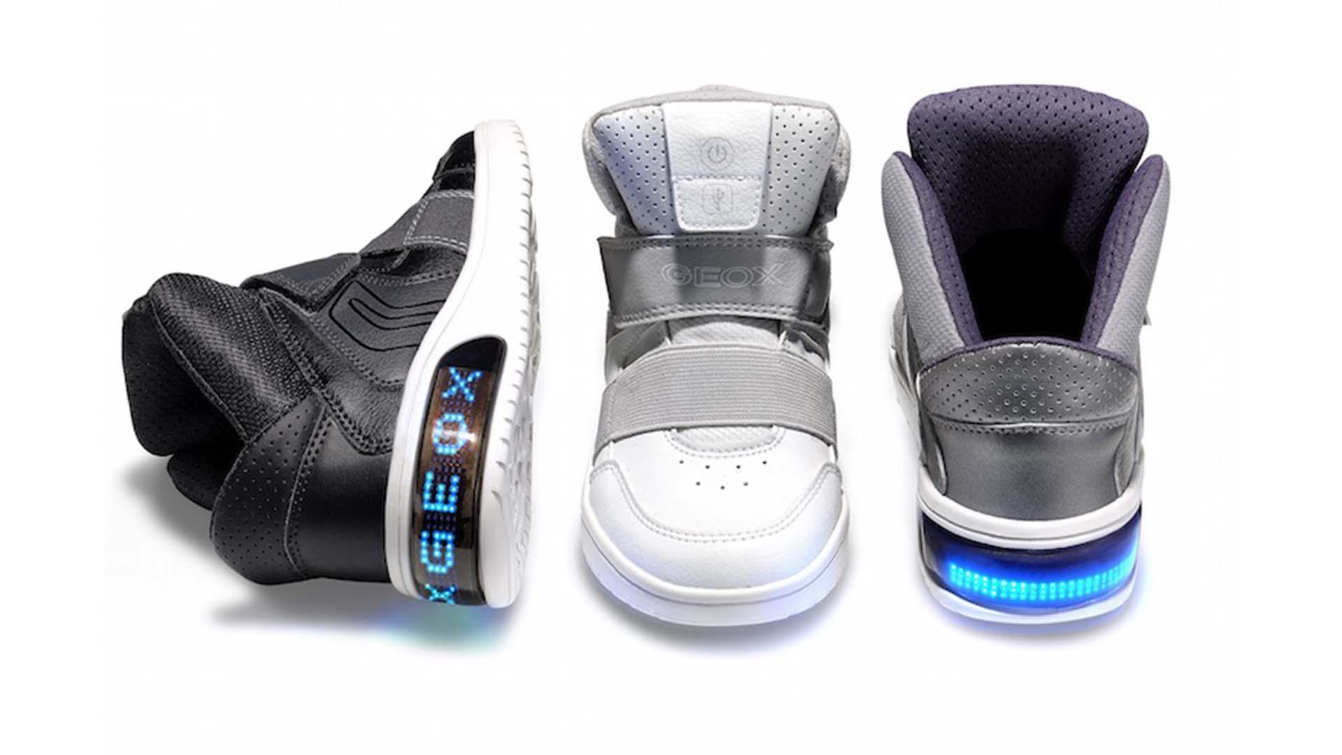 Geox XLED: le scarpe che puoi personalizzare con un'applicazione thumbnail