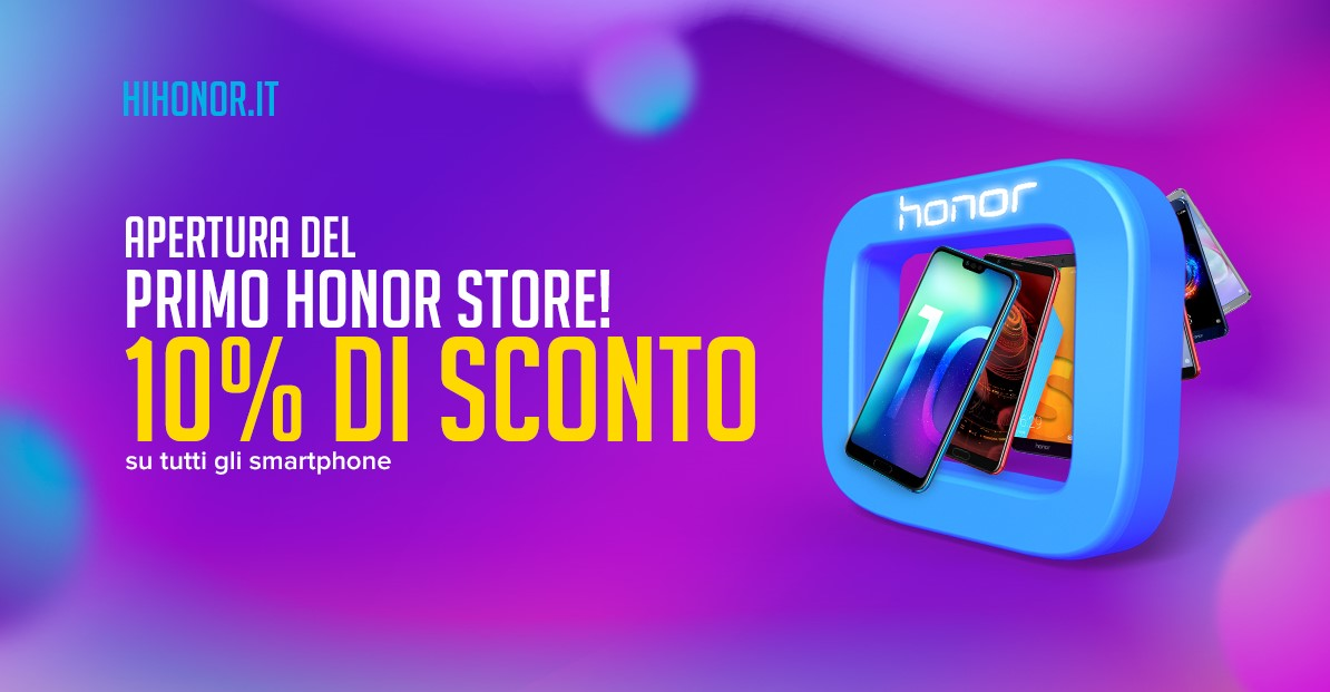 Ad Arese apre il primo store monobrand di Honor thumbnail