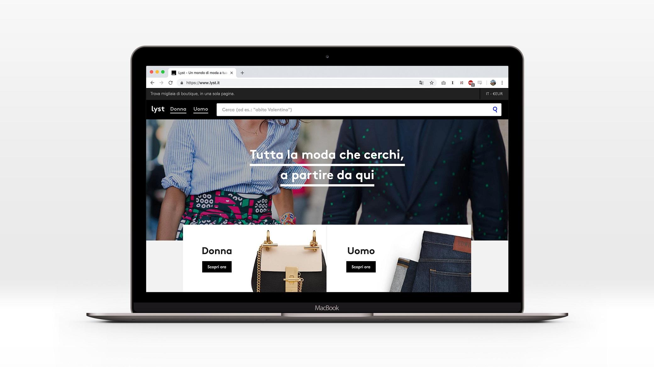 Lyst, arriva in Italia il motore di ricerca fashion thumbnail