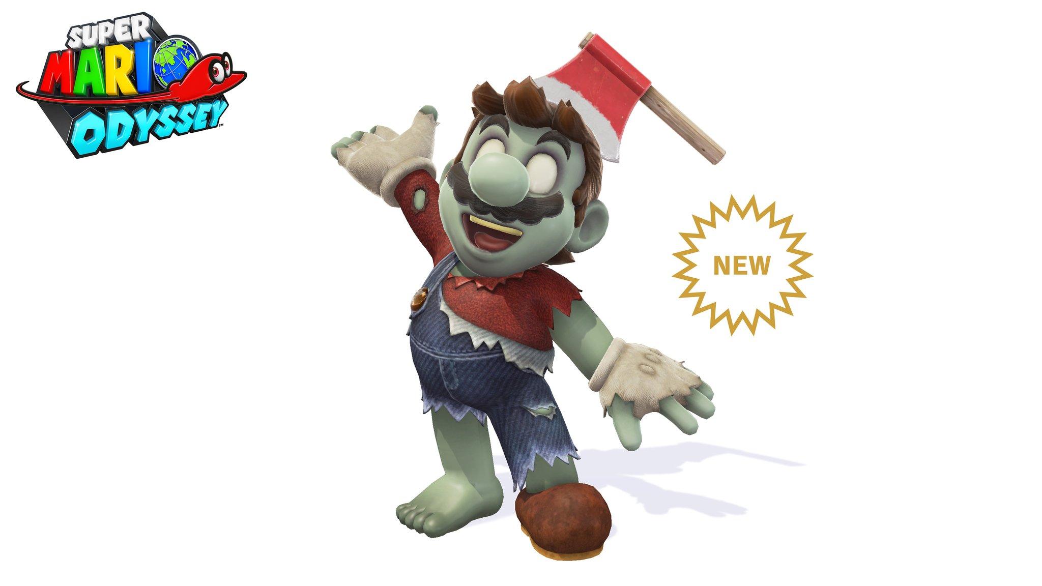 Super Mario diventa uno zombie thumbnail
