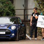 Mini partner di sneakerness evento a milano