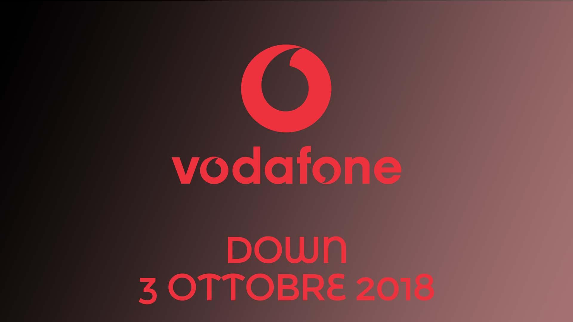 vodafone down 3 ottobre