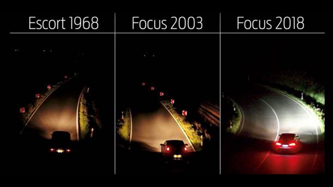 Adaptive Front Lighting System: la tecnologia di Ford che sfida l'accorciarsi delle giornate thumbnail