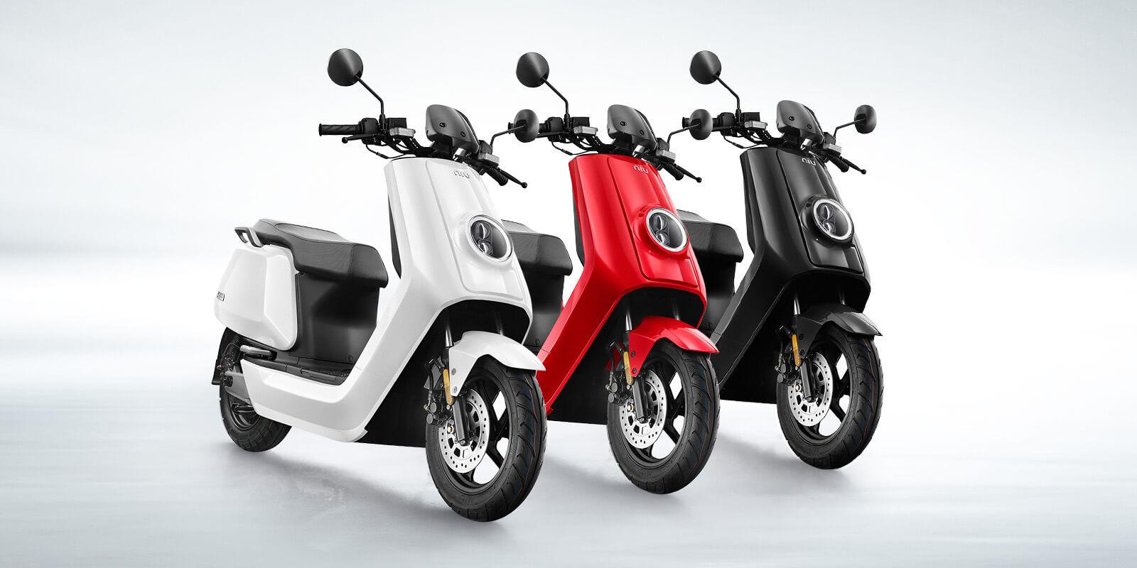 NIU: scooter elettrici per ogni esigenza thumbnail