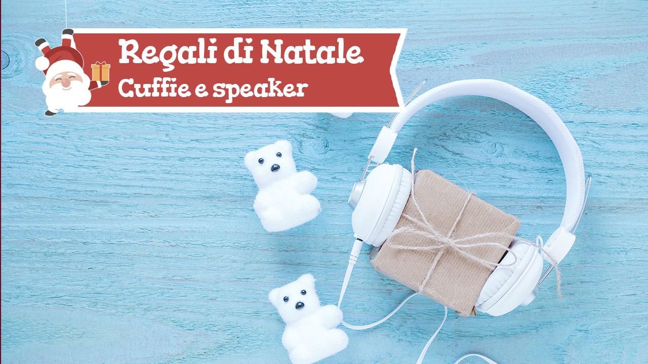 Regali di Natale: cuffie e speaker per gli amanti della musica thumbnail