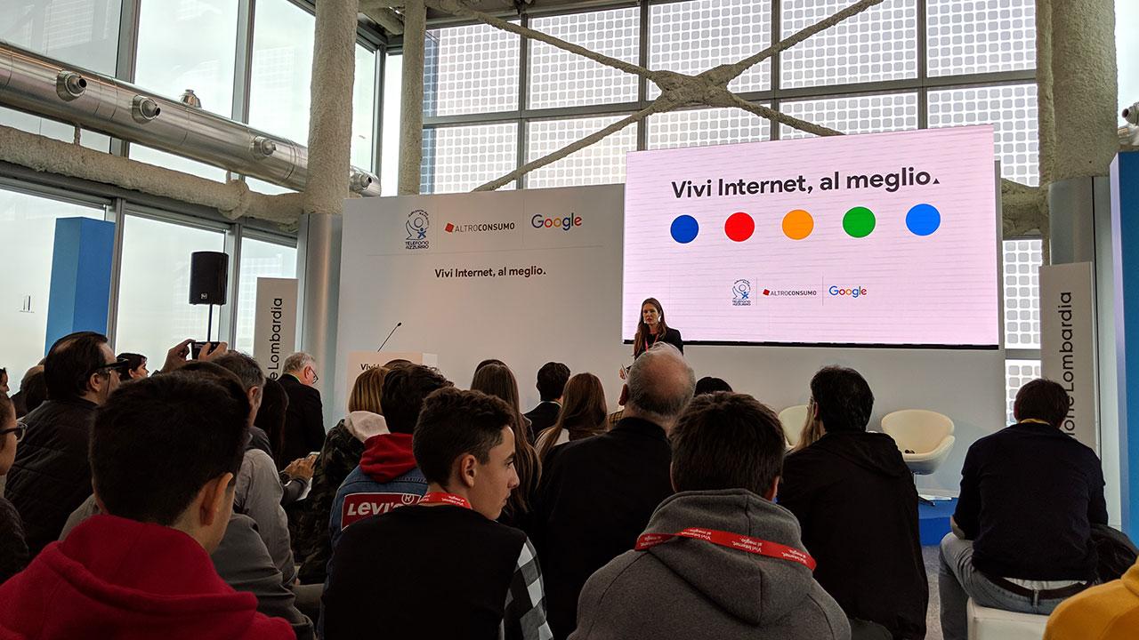Vivi Internet, al meglio: il progetto di Google dedicato ai più giovani thumbnail