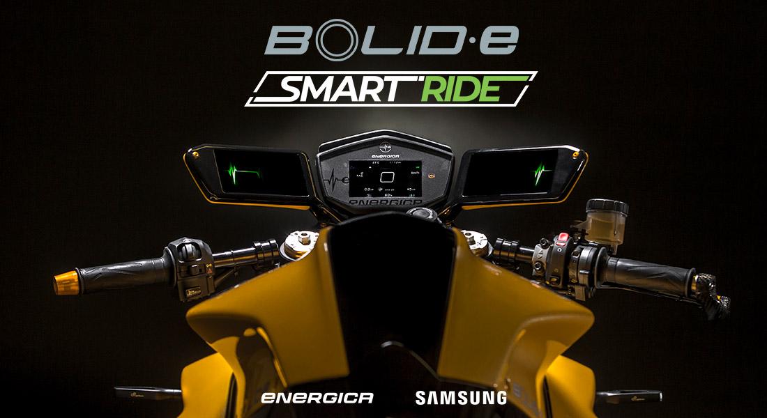 Samsung ed Energica rivoluzionano il mondo delle due ruote all'EICMA 2018 thumbnail