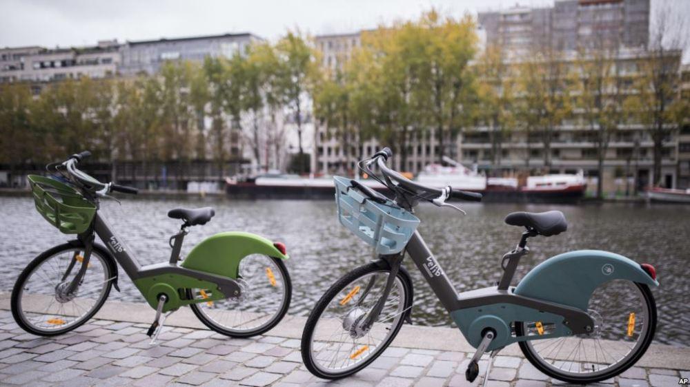 velib veligo bikes pariri