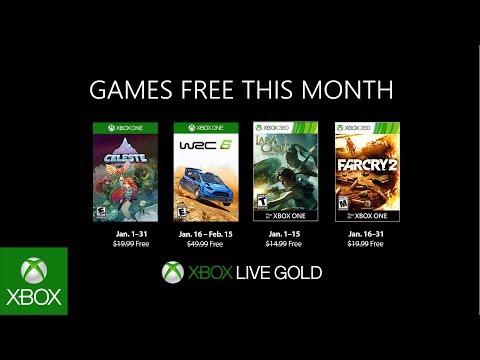 Games with Gold: svelati i giochi gratuiti di gennaio 2019 per Xbox thumbnail