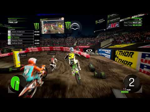 Monster Energy Supercross 2, ecco il primo video di gameplay thumbnail