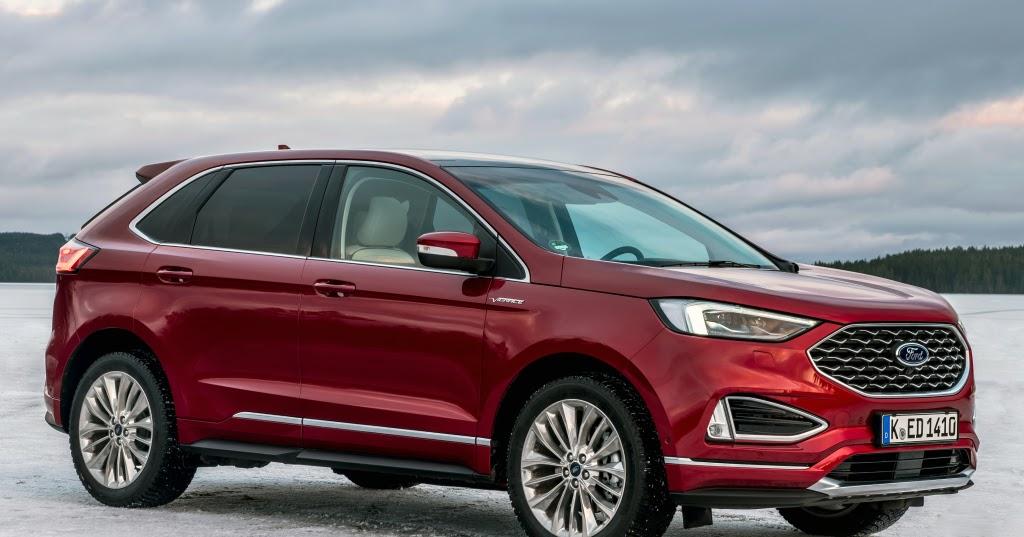 Edge: presentata la nuova linea di SUV targata Ford thumbnail