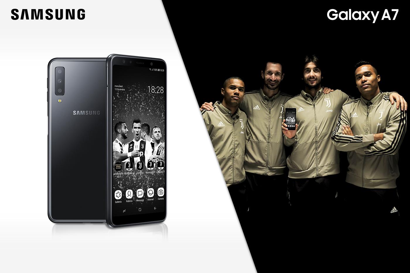 Annunciato Samsung Galaxy A7 Juventus Special Edition thumbnail