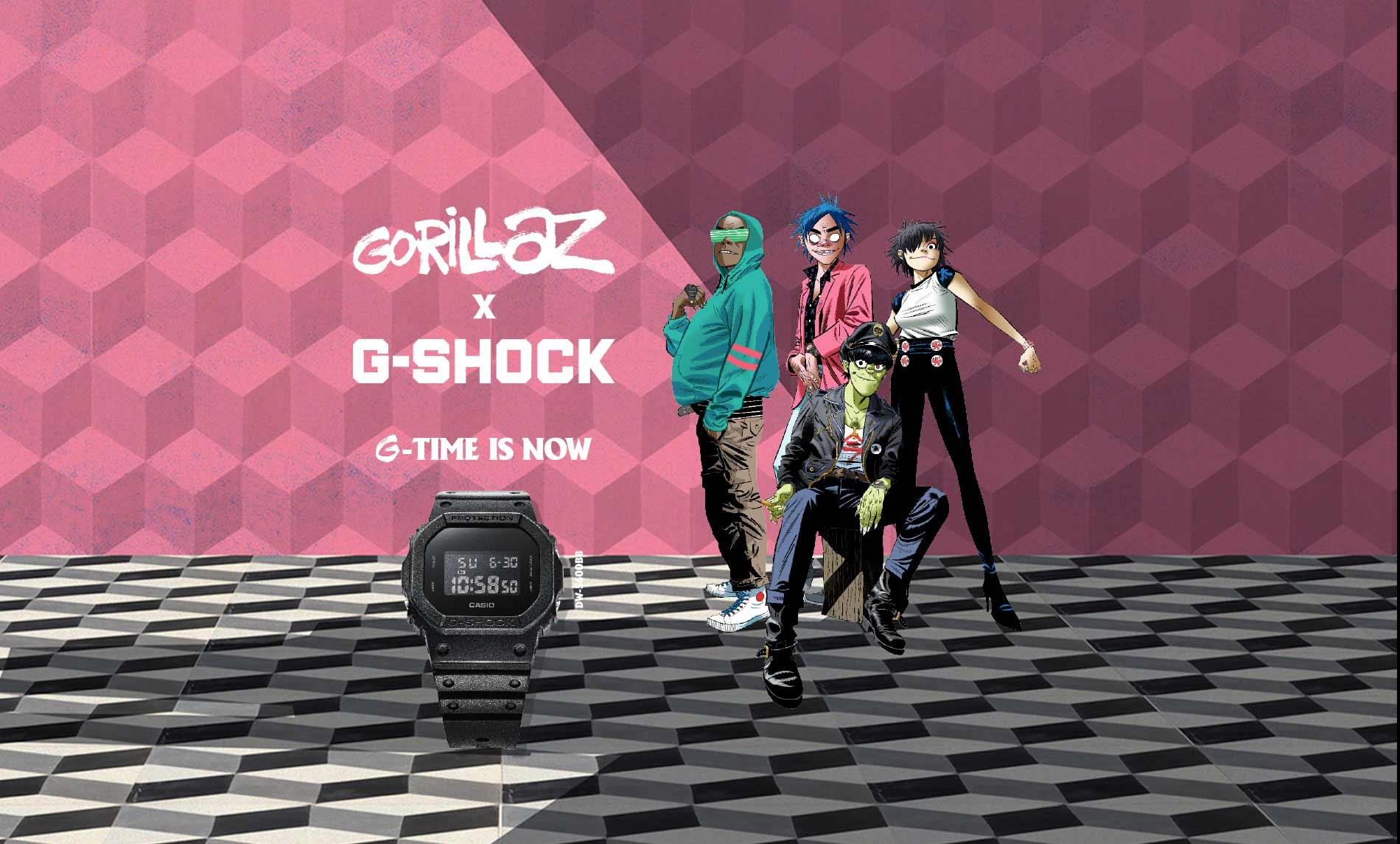Gorillaz e G-Shock: i nuovi orologi dedicati alla band ora disponibili thumbnail