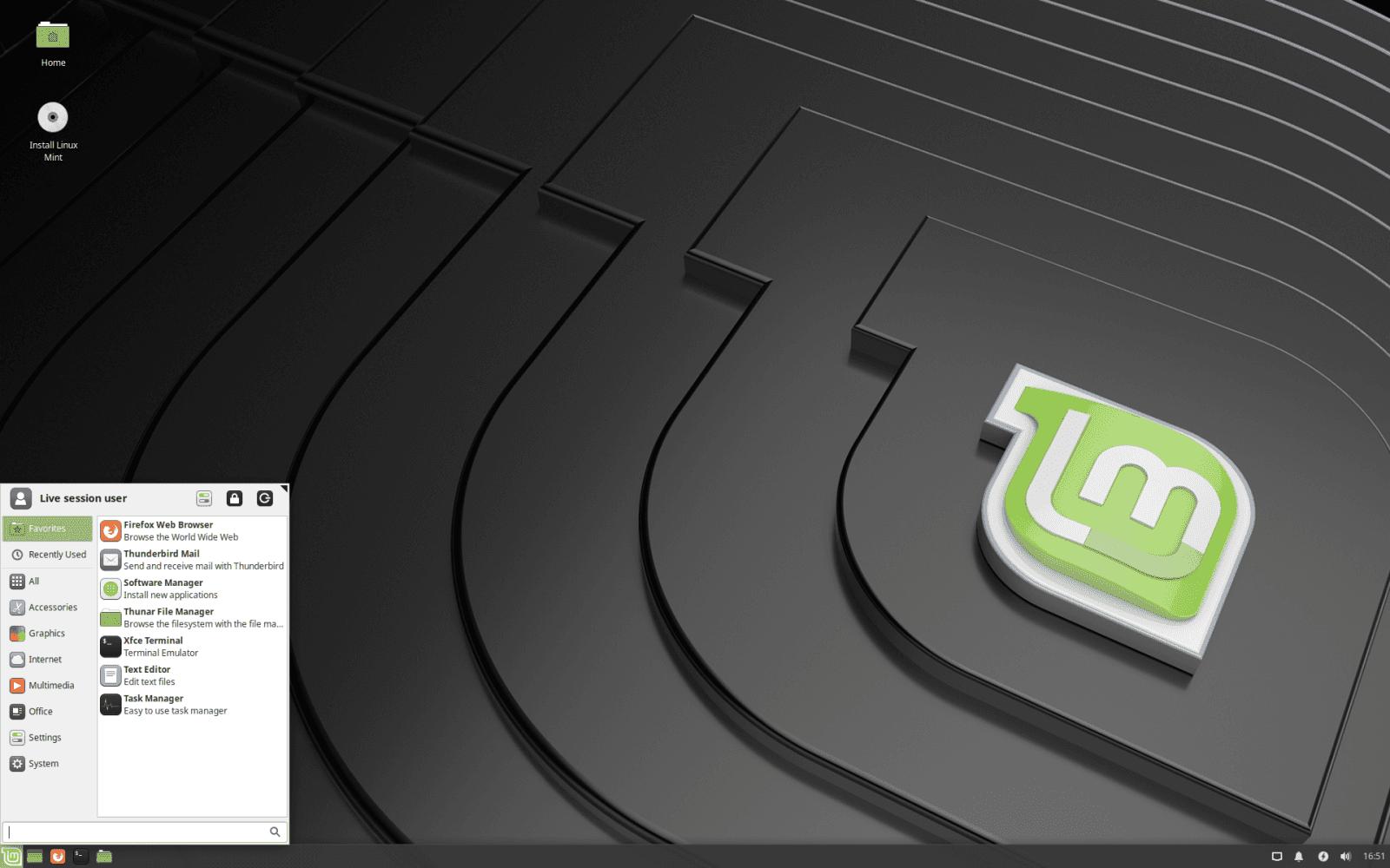 Linux Mint Tessa