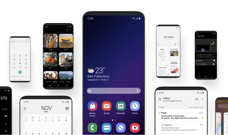android 9 samsung
