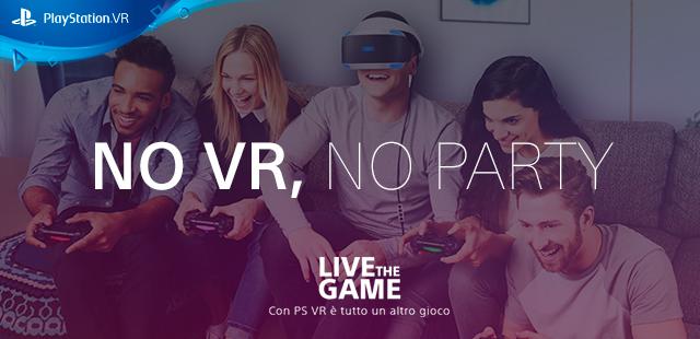 Party con PS VR: vinci una crociera e una PS4 con Playstation! thumbnail