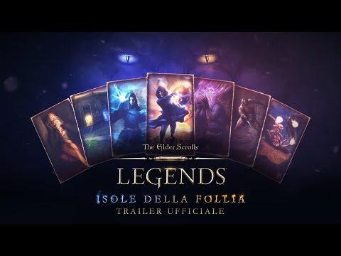 """Annunciato """"The Elder Scrolls: Legends: Isola della Follia"""" thumbnail"""