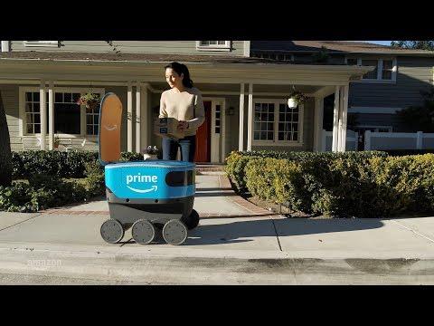 Amazon Scout: il robot autonomo per le consegne thumbnail