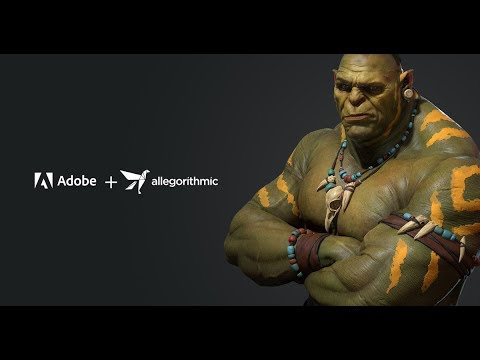 Adobe acquisisce il leader in 3D editing Allegorithmic thumbnail